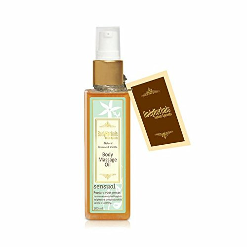 BodyHerbals Natural Jasmine Vanilla Body Massag Oil