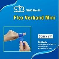 Mini Flex 3cm x 7 m wasserabweisendes Pflaster ohne Kleber, blau (1) preisvergleich bei billige-tabletten.eu
