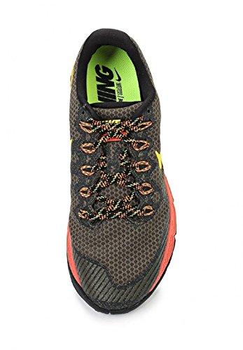 Nike Air Zoom Wildhorse 3, Scarpe sportive, Uomo Marrón / Naranja (Cargo Khaki / Lsr Orng-Ttl Crmsn)