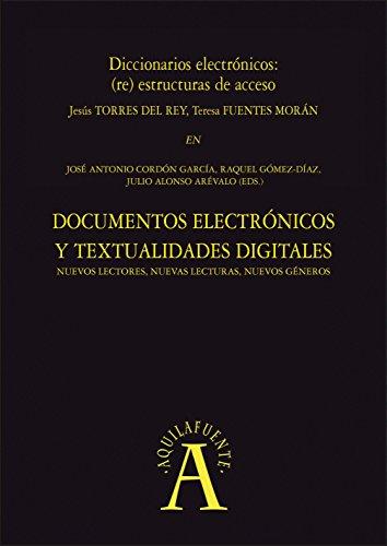 Diccionarios electrónicos: (re) estructuras de acceso: En