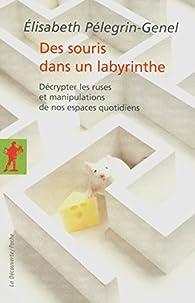 Des souris dans un labyrinthe par Elisabeth Pélegrin-Genel
