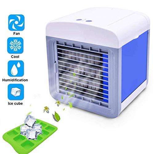 Tomatoa Mobile Klimaanlage Klein mini klimaanlage 3 in 1 Luftbefeuchter und Luftreiniger Portable Air Cooler Klimaanlage leiser Tischventilator für Zuhause und Büro