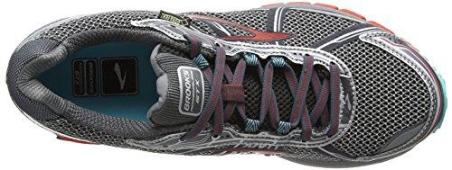 Brooks Adrenaline Asr 12 Gtx Damen Traillaufschuhe Anthracite/Hibiscus/Capri