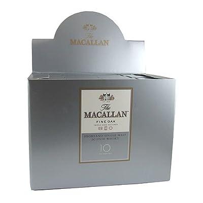 Macallan 10 year old Fine Oak Single Malt Whisky 5cl Miniature - 12 Pack
