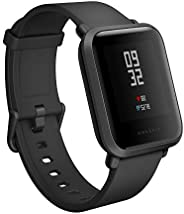 (Renewed) Amazfit Bip Smartwatch with All-Day Heart Rate and Activity Tracking (A1608 Black)