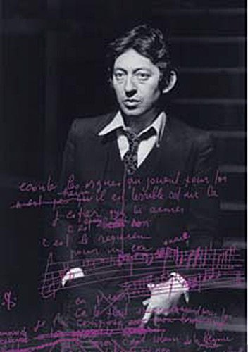 Les manuscrits de Serge Gainsbourg par Laurent Balandras