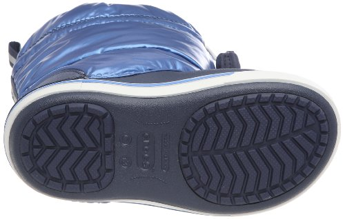Crocs Crocbandtm Iridescent Gust Boot Kids - Stivali Uomo, , taglia Blu (Navy/Sea Blue)