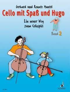 CELLO MIT SPASS + HUGO 2 - arrangiert für Violoncello [Noten / Sheetmusic] Komponist: MANTEL GERHARD + RENATE