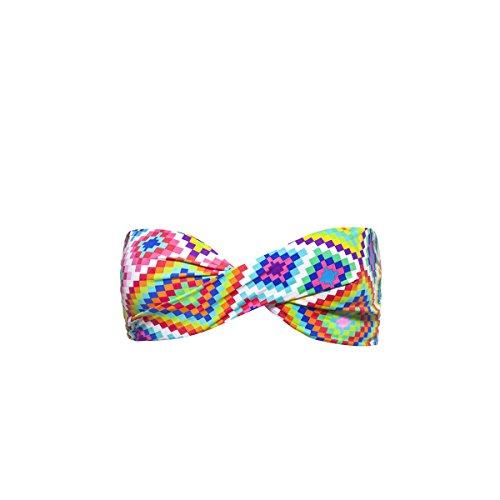 Bandeau-Bikini Summer Rhombus, bunt (Oberteil) Multicolor
