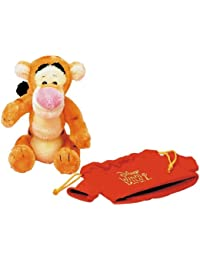 Winnie the Pooh 80th anniversary red shirt purse containing Tigger