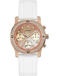 Guess Confetti Analog Rose Gold Dial Women's Watch - W1098L5