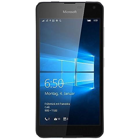 Microsoft Lumia 650 Smartphone (5 Zoll (12,7 cm) Touch-Display, 16 GB Speicher, Windows 10) schwarz