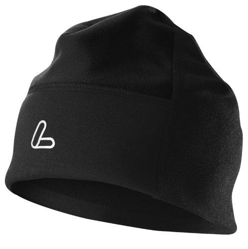 Löffler Mütze Windstopper Warm Fleece, schwarz, 1 -