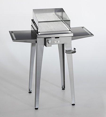 Barbecue a Gas BBQueen Grill 4.4 Inox con Piastra Inox (Barbecue ...
