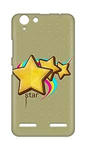 Amez designer printed 3d premium high quality back case cover for Lenovo K5 Plus (Stars)