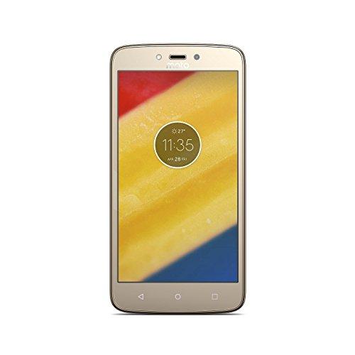 Motorola Moto C Plus – Smartphone de 5″ (4 G, Bluetooth 4.2, procesador Quad Core Mediatek MT6737M, memoria interna de 16 GB, 2 GB de RAM, HD, Android 7.0 Nougat) dorado