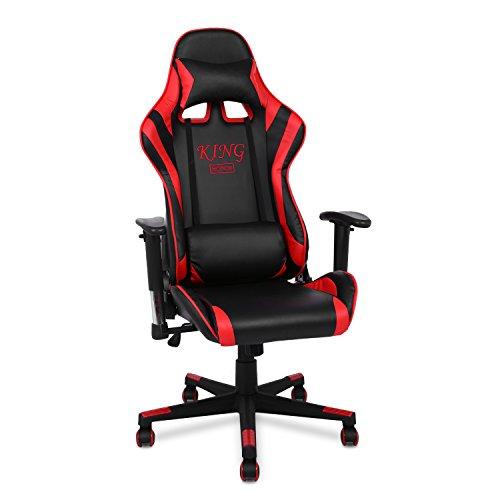 Modrine Bürostuhl Ergonomische Gaming Stuhl Sthul Computerstuhl Einstellbare Schreibtischstuhl