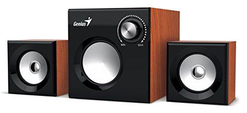 Genius SW-2.1 370 PC-Lautsprecher/MP3-Sender, RMS 1 W