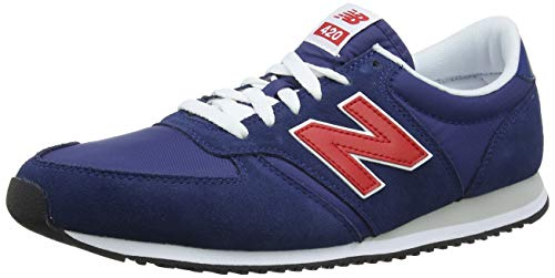 New Balance 420 Sneaker Unisex-Adulto, Blu (Moroccan Tile/Team Red Mtr) 40.5 EU