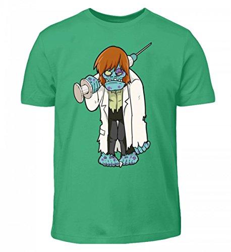 T-Shirt - Doktor Zombie - Untoter Arzt mit Grosser Spritze und Arztkittel - Horror Monster Halloween (Halloween Kinder T Shirts)
