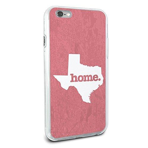 Texas TX Home State Hybrid Case für Apple iPhone 66S Plus (Nur für Plus Modell) - Rosa -