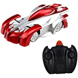Bestofferbuy 4CH Remote Control Wall Climbing Climber Stunt Toy Car, Color may vary