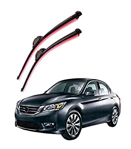 "Autofurnish Frameless Silicon Wiper Blades for Honda Accord New (D) 26"" (P) 18"""