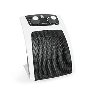 ASTAN HOGAR Keramik-Heizlüfter, Schwarz/Weiß, Medium