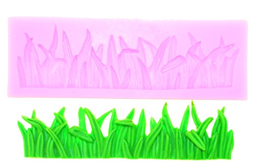Silikonform Rasen Race Gras Grass Wiese Weide Silikonforme Fondant Modeliermasse Torten Tortendekoration Kuchendekoration Backformen Kuchen Backzubehör Dekorieren Verzierung Verzieren Silicon Mold Neu -