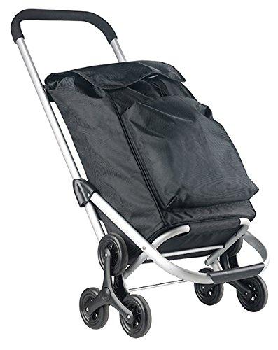 CarryOn Shopping Cruiser Stairs Climber Black (Kleine Kühltasche Mit Räder)