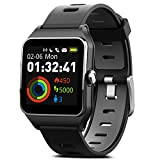 MorePro Smart Watches, GPS Sports Watch 17 Sports Modes Fitness Watch 50m IP68