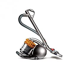 Dyson DC52 Allergy vacuum cleaner EEK E (bagless, especially for allergy sufferers incl. Accessories) silver / satin-yellow