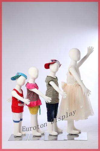 Euroton R3468 4 X Kinderpuppen flexible biegbare Körper Schaufensterpuppe Mannequin