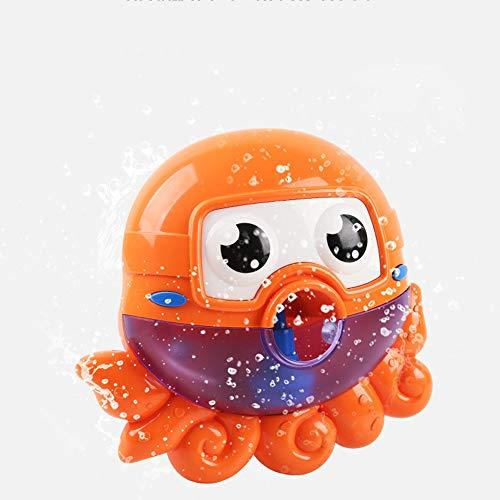 für 2-Jährige, Toy Bubble Machine Tub Große süße Octopus automatische Bubble Maker Gebläse 12 Musik Song Badespielzeug für Baby ()