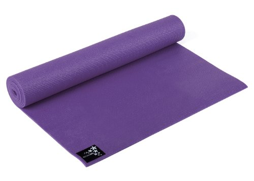 Yogistar Yogamatte Basic - rutschfest - Violett