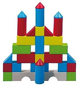 Haba 1076 - Juego de bloques, varios colores