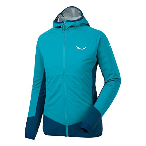 Salewa Damen PEDROC HYBRID Stormwall Dura Stretch Jacke Caneel bay/8960, 36 Stretch-jacke