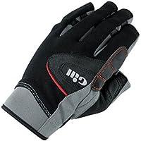 2017 Gill Championship Short Finger Sailing Gloves Black 7242 Size - - Medium