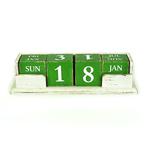creative-co-op-wood-perpetual-calendar-green-by-creative-co-op