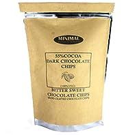 Minimal Dark Chocolate Chips(75% Cocoa),250Gr