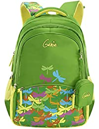 Genie 28 Ltrs Green Casual Backpack (BUZZ17SBGRN)
