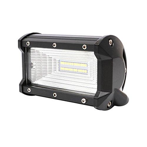 Mengonee 1 Paar 4 Zoll 60W 72W LED Arbeits-Licht-Lampen-Bar Flood Punkt-Lichtstrahl Wasserdicht für Auto-Offroad-Boots-Motorrad