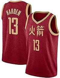 CRBsports James Harden,Camiseta De Baloncesto,Cohetes,Edición De La Ciudad, Tela Bordada,Ropa Deportiva De Botín,…
