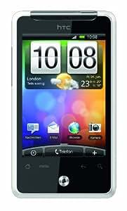 HTC Gratia Smartphone (8,1 cm (3,2 Zoll) Display, Touchscreen, 5 Megapixel Kamera, Android 2.1 OS) weiß