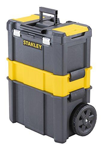 Stanley STST1-80151 - Taller móvil 3 en 1 con cierres metálicos, cap