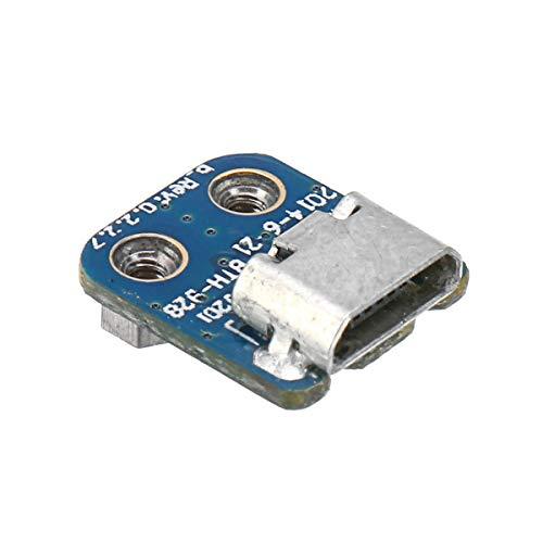 Preisvergleich Produktbild HELEISH Ersatz-Wireless-Ladeanschluss Micro-USB-Ladegerät für Beats by Dr. DRE Solo 2.0 & 3 Motorradzubehör