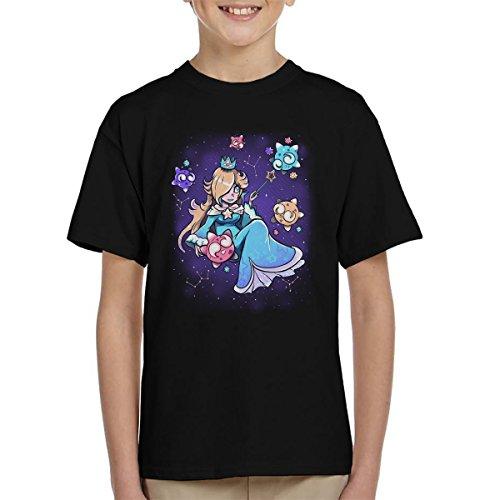 lina Super Mario Universe Pokemon Kid's T-Shirt (Mario Rosalina)