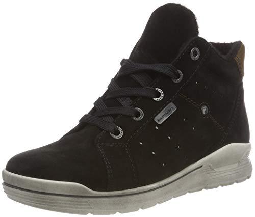 RICOSTA Jungen MAEL Hohe Sneaker, Schwarz (Schwarz 093), 36 EU
