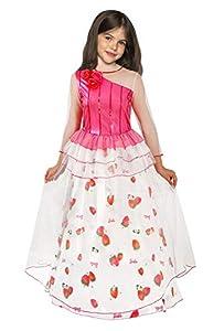 Ciao Barbie Princesa del Reino de las caramelos disfraz de niña, 5-7años, blanco, Rojo, Rosa, 11664.5-7