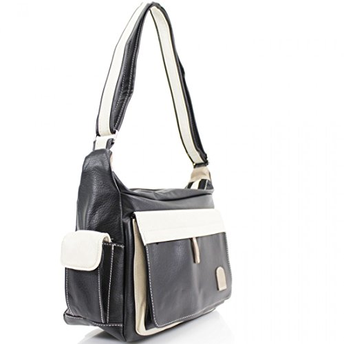 Craze London, Borsa a tracolla donna Black